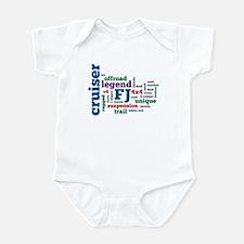FJ Cruiser word cloud Infant Bodysuit