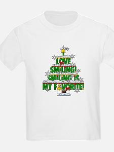 I LOVE SMILING CHRISTMAS ELF SPECIAL T-Shirt