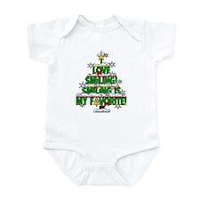 I LOVE SMILING CHRISTMAS ELF SPECIAL Infant Bodysu