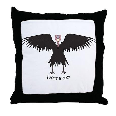 Andean Condor Throw Pillow