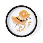 Tweet Me Wall Clock