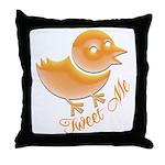 Tweet Me Throw Pillow