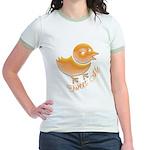 Tweet Me Jr. Ringer T-Shirt