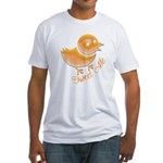 Tweet Me Fitted T-Shirt
