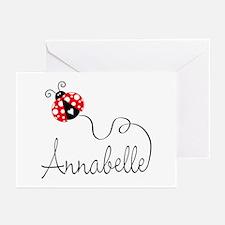 Ladybug Annabelle Greeting Cards (Pk of 20)