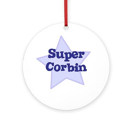 Super Corbin Ornament (Round)