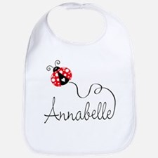 Ladybug Annabelle Bib