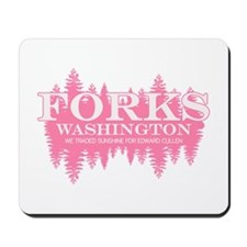 Forks - Washington (in girly Mousepad