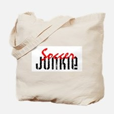 Soccer Junkie Tote Bag