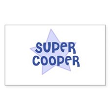 Super Cooper Rectangle Decal