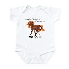 Resolute Morgan Horse Infant Bodysuit