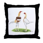 Red Pyle Modern Games Throw Pillow