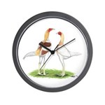 Red Pyle Modern Games Wall Clock