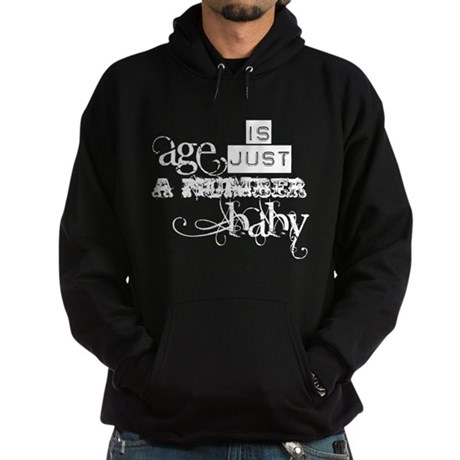 Age is Just a Number Hoodie (dark)