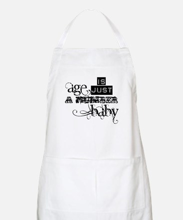Age is Just a Number Apron
