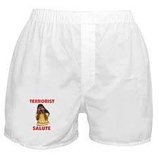 SALUTE THEM BACK Boxer Shorts