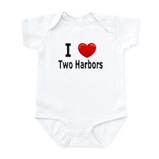 I Love Two Harbors Infant Bodysuit
