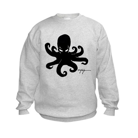 Evil Octopus Kids Sweatshirt