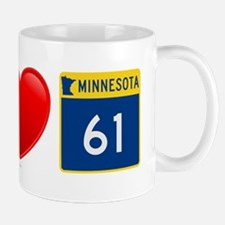 I Love Highway 61 Mug