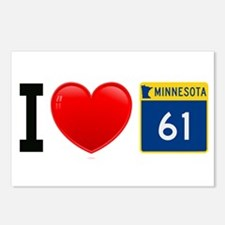 I Love Highway 61 Postcards (Package of 8)