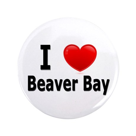 "I Love Beaver Bay 3.5"" Button"