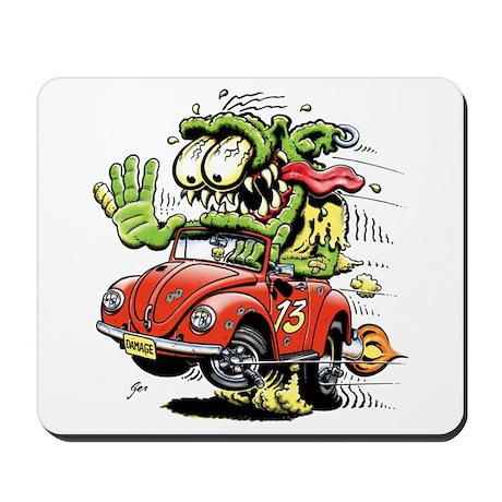 VW Convertible Monster Mousepad