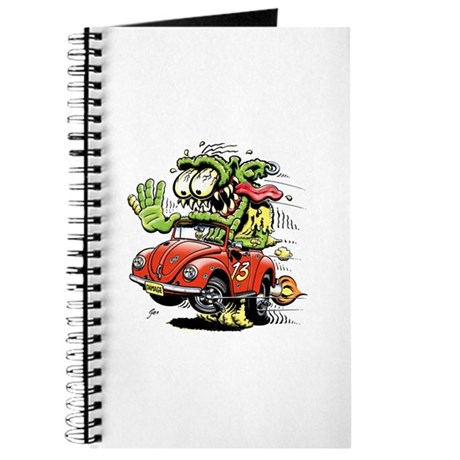VW Convertible Monster Journal