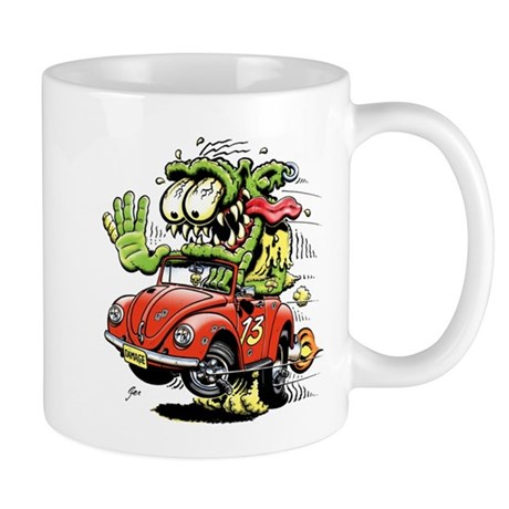 VW Convertible Monster Mug