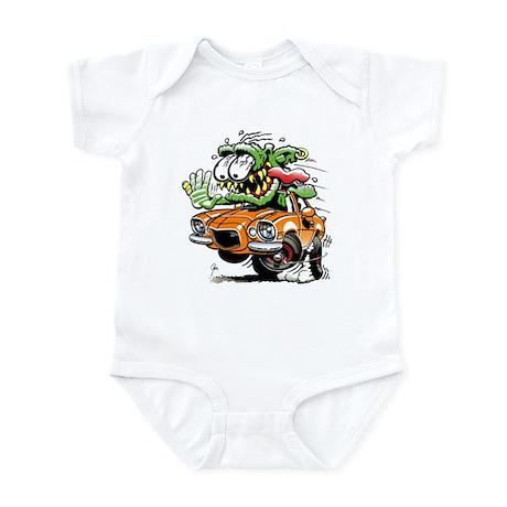 Chevy Camaro Monster Car Infant Bodysuit