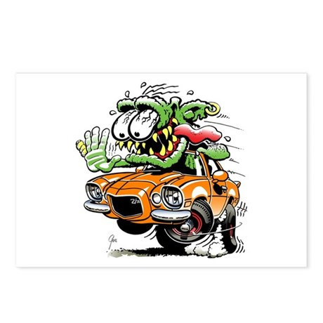 Chevy Camaro Monster Car Postcards (Package of 8)