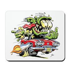 Chevy Corvette Monster Car Mousepad