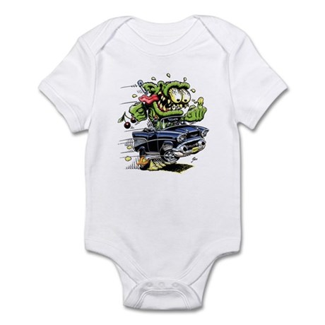 1957 Chevy Belair Monster Car Infant Bodysuit