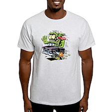 1955 Chevy Belair Monster Car T-Shirt