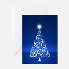Blue Tree Greeting Cards (Pk of 10)