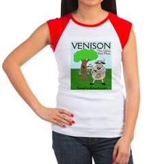 Venison - The Other Red Meat Women's Cap Sleeve T-