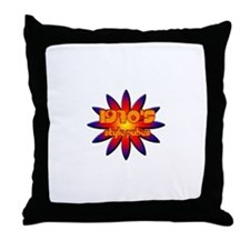 70's style pubes Throw Pillow