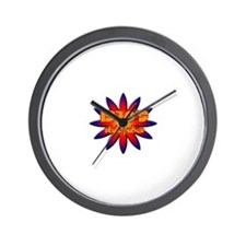 70's style pubes Wall Clock