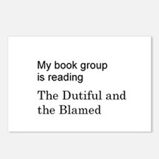 Dutiful and Blamed Postcards (Package of 8)