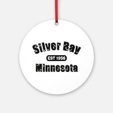 Silver Bay Established 1956 Ornament (Round)