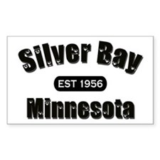 Silver Bay Established 1956 Rectangle Decal