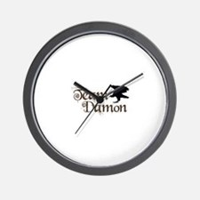 Team Damon Wall Clock
