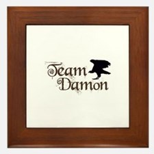 Team Damon Framed Tile