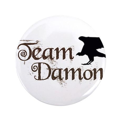 "Team Damon 3.5"" Button (100 pack)"