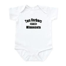 Two Harbors Established 1888 Infant Bodysuit
