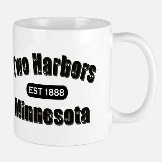 Two Harbors Established 1888 Mug