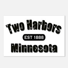 Two Harbors Established 1888 Postcards (Package of