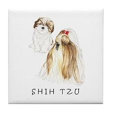 Shih Tzu Original SP Tile Coaster