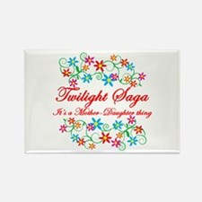 Twilight Mom Daughter Rectangle Magnet