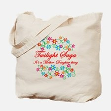 Twilight Mom Daughter Tote Bag