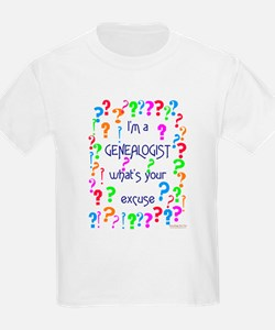 Genealogy For You<br> Kids T-Shirt